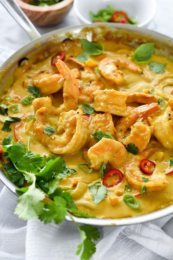 Thai Coconut Shrimp | foodiecrush.com