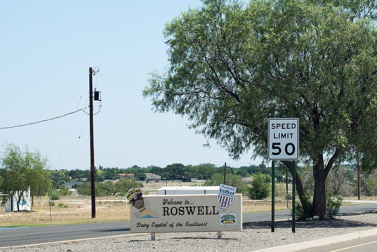 Roswell - Roadtrip USA 2012   by Mathieu Lebreton