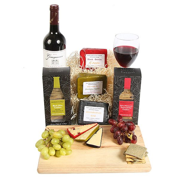 Bordeaux and Artisan Cheese Hamper