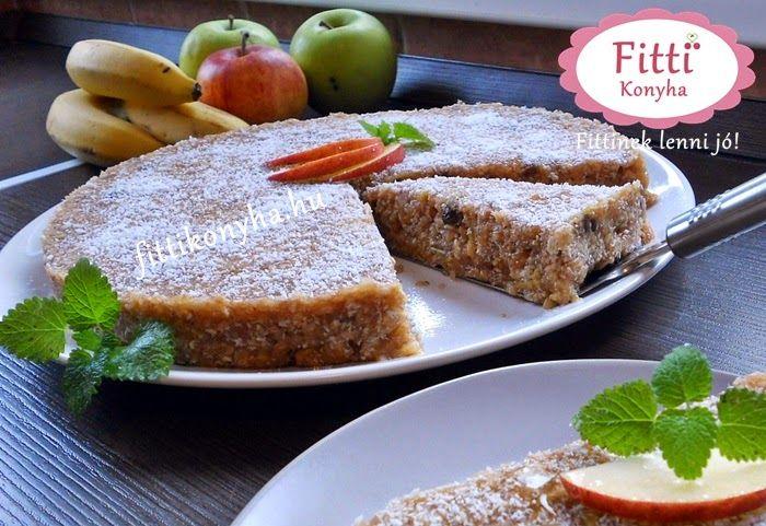 Fitti Konyha: Fitti paleo almás pite (sütés nélkül)