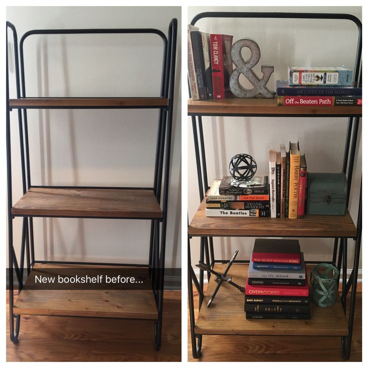 1000 Ideas About Industrial Bookshelf On Pinterest