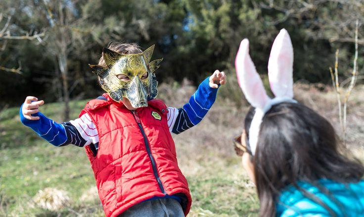 https://flic.kr/p/RhFcbK | Wolf vs Bunny