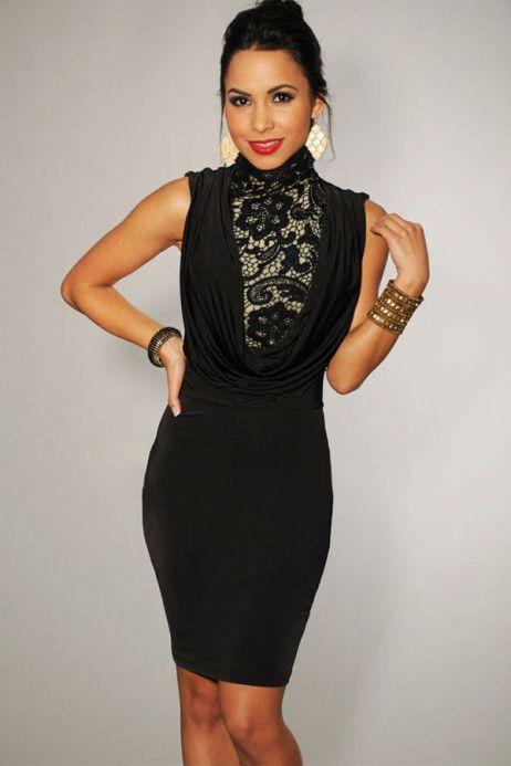Rochia Decora este genul de obiect vestimentar care nu trebuie sa lipseasca din garderoba ta. Cu aspect clasic, rochia este ideala pentru o seara romantica. Partea frontala este cea care se evidentiaza in mod deosebit, datorita materialului de tip dantela ce acopera decolteul dar si a surplusului de material, care cade lin pe corp. Fusta este conceputa din material usor elastic, mulandu-se pe corp. #rochiidesearaieftine #rochiideclub #declub