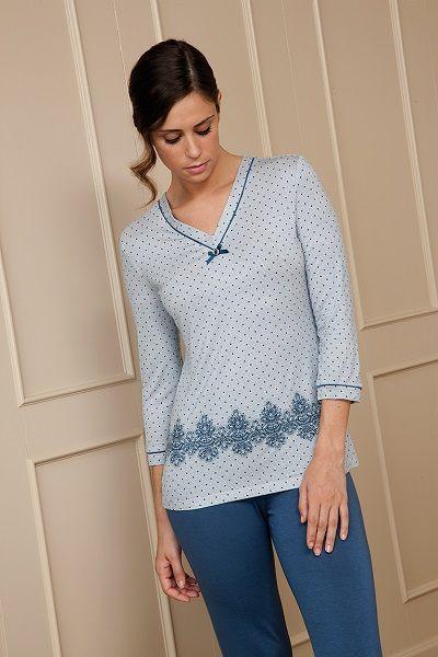 Pijama mujer invierno Egatex modelo night