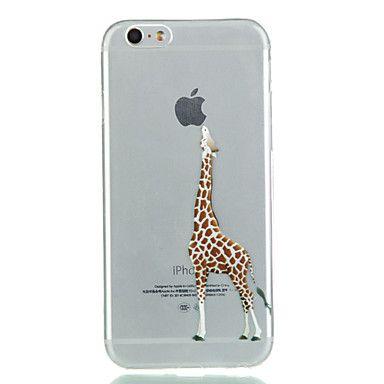 Giraffe TPU Soft Phone Case for iPhone 6/6S 2016 - $2.99