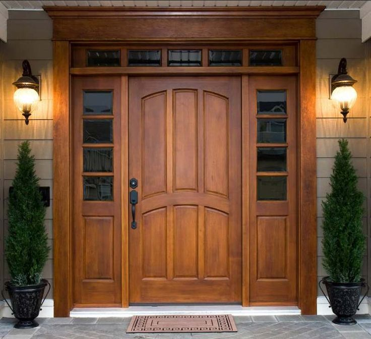 Входные двери. Образец дизайна.