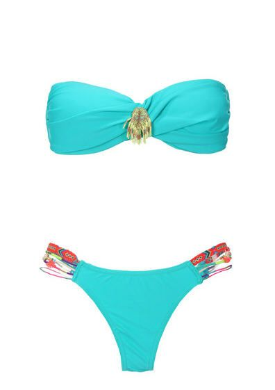 Maillot de bain Monshowroom promo maillot, le Maillot 2 pièces Swim Turquoise Hipanema for Amenapih prix promo Monshowroom 100,00 €