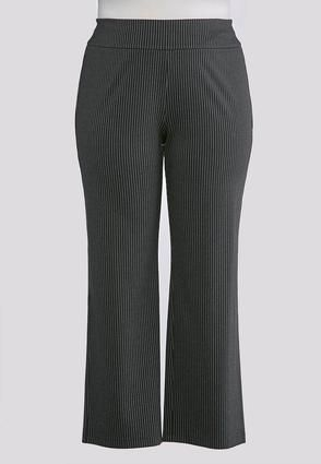 f4c5d33a0b7 Cato Fashions Plus Size Striped PullOn Trouser Pants  CatoFashions