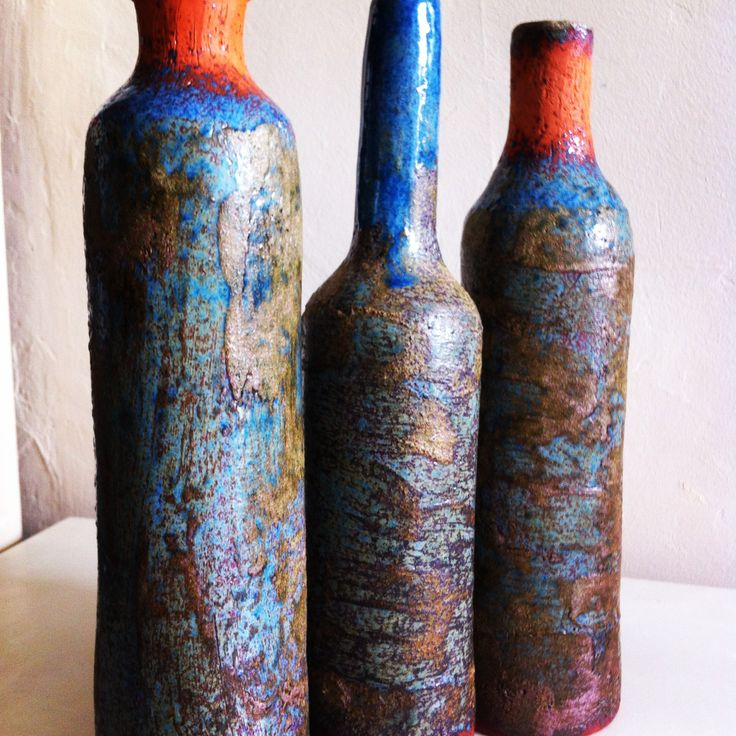 Ceramic bottle / dekoratif seramik siseler
