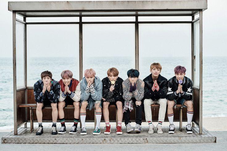 BTS J'ADORE LA PHOTO LA!BTS au complet!♥