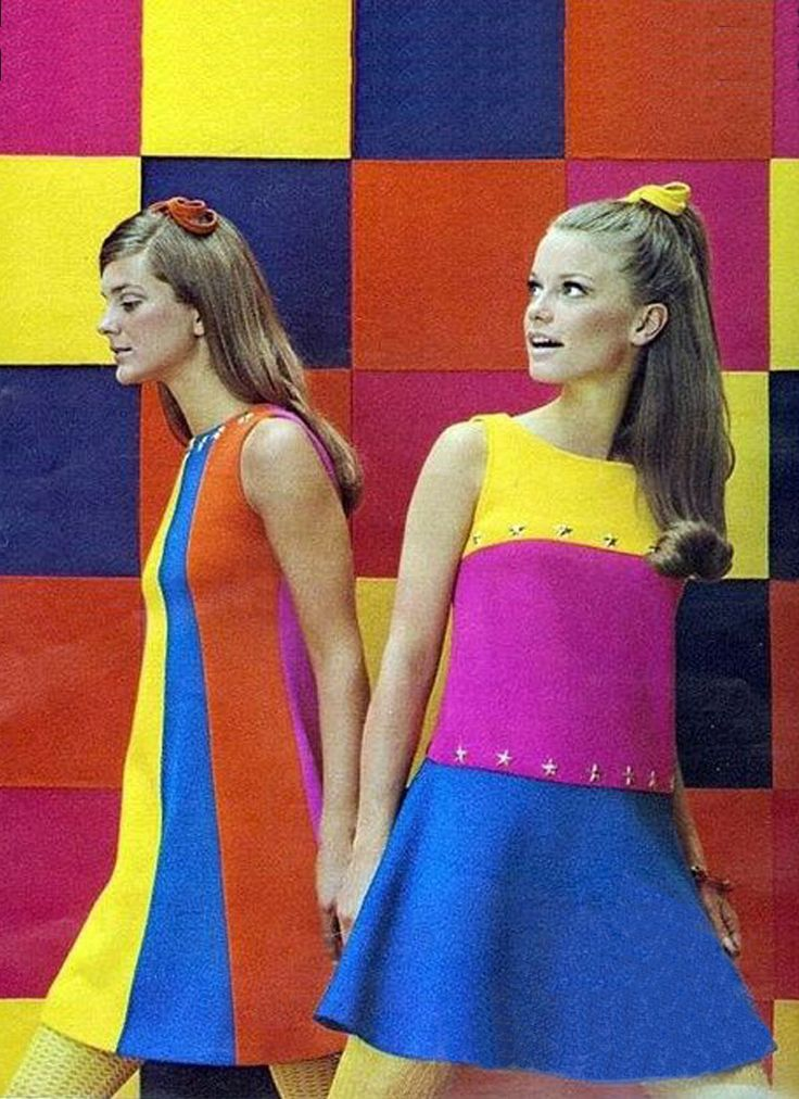 Absolutely love the vibrant colors of the 1960's