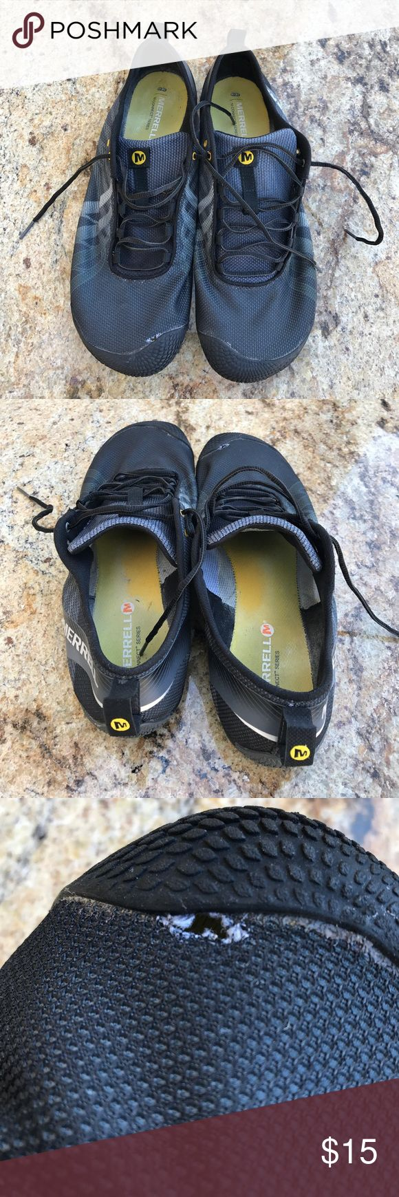 Merrell Performance Footwear Good Shoes To Get Wet And Dry Fast While Still On Your Feet, As Shown In Picture 3 There's A Little Hole Near The Big Toe But Other Then That They Are In Good Shape,Very Light And Durable,So Make Me An Offer Please!!!!! Merrell Shoes Athletic Shoes
