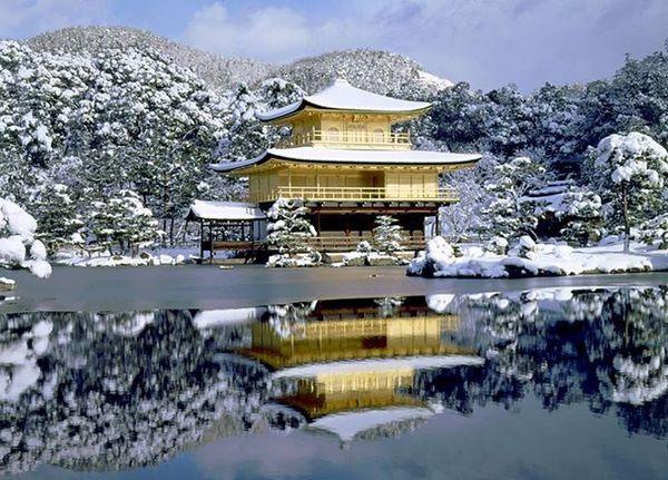 Templo Kinkaku-ji Pavilhão Dourado | Curiosidades do Japão