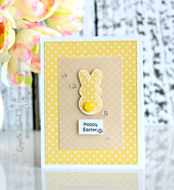 Easter Card #4 by Scrapawayg3 - Cards and Paper Crafts at Splitcoaststampers
