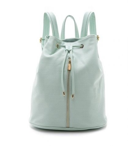 Slouchy Backpack in Mint