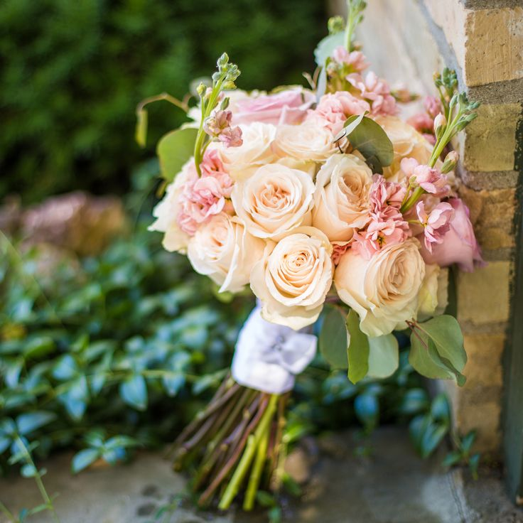 Bridal Bouquet from The Little Shed Flower Company in Bayfield Ontario