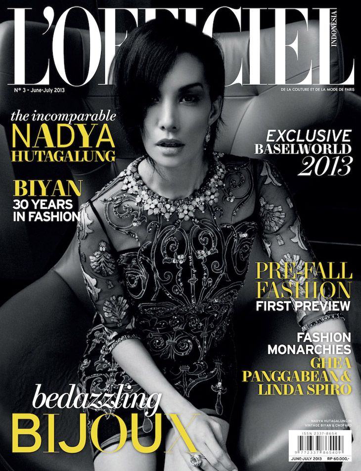 Nadya Hutagalung by Hilarius Jason for L'Officiel Indonesia