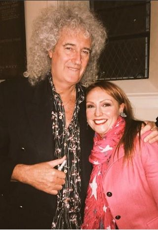 Excited to be seeing the truly incomparable Queen on Tuesday with one of my heros the lovely @DrBrianMay #cantwait pic.twitter.com/K5gqI1LLX2