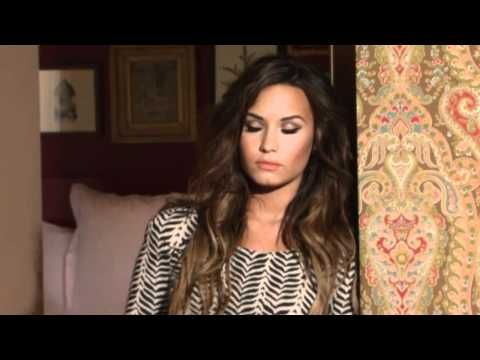 Behind The Scenes with Demi Lovato: Latina Magazine Cover Shoot - YouTube