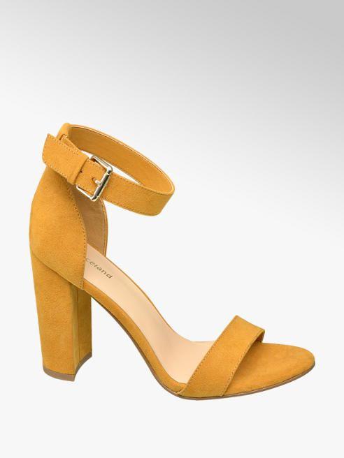 7aa28364de74 Sandále značky Graceland vo farbe žltá - deichmann.com