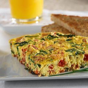 Recetas bajas en Carbohidratos: Tortilla Rápida de Vegetales