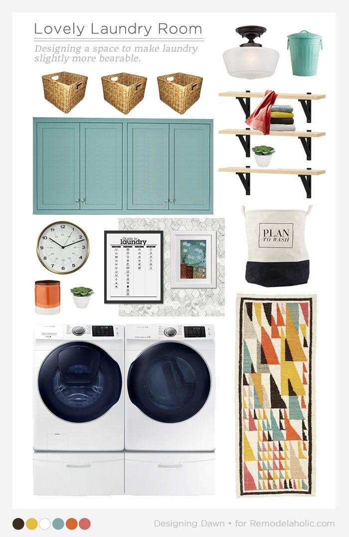 Lovely Real-Life Laundry Room Ideas
