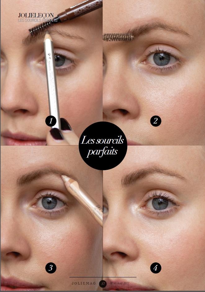 Les sourcils parfaits - JolieLeçon du JolieMag Août #joliebox