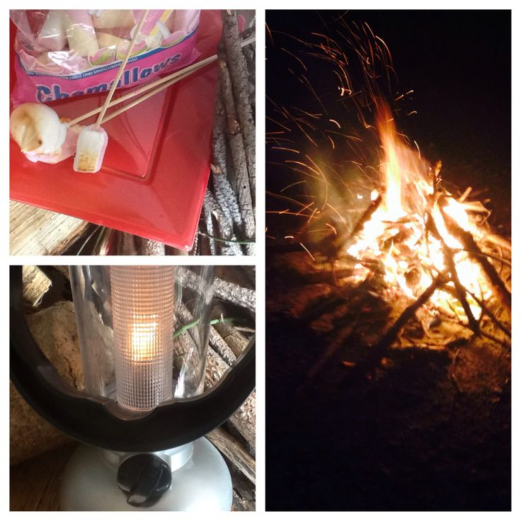 Bonfire and toasted marshmallows!