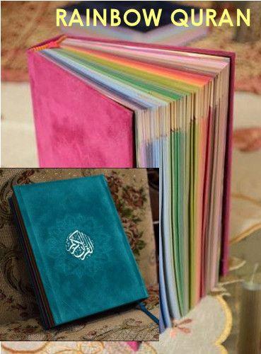 Alsharifa.com - Rainbow Quran | Islamic Gift Idea : Rainbow Koran, $25.00 (http://shop.alsharifa.com/rainbow-quran-islamic-gift-idea-rainbow-koran/)