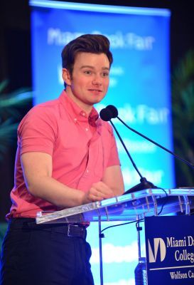 Author Chris Colfer discusses and signs his new book #TLOS6 at Miami Dade College-Wolfson Campus on July 21, 2017