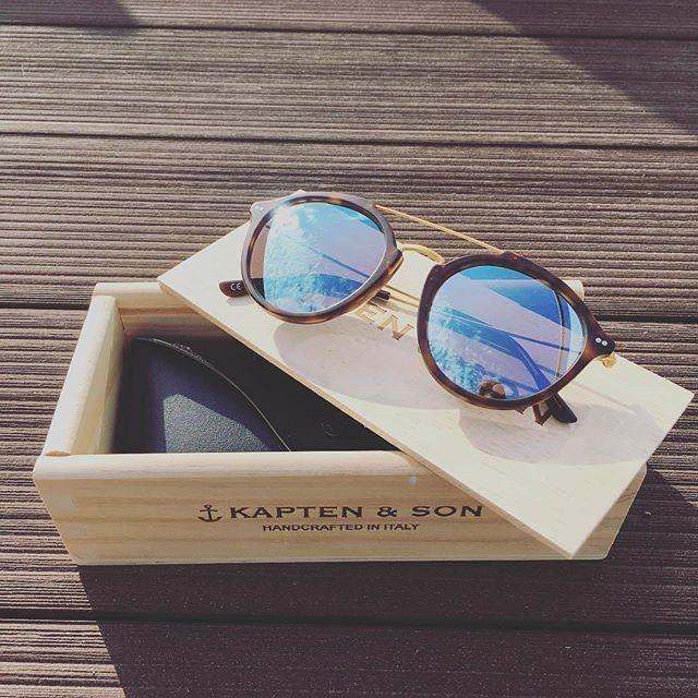 @kaptenandson sunglasses for a stylish look || https://kapten-son.com