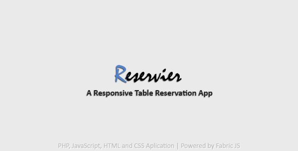 What is Reservier?This is a Table Reservations App powered by Javascript, Backbone.js and PHP.All...