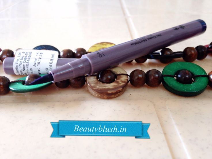 Oriflame The One Eyeliner Stylo Blue Review