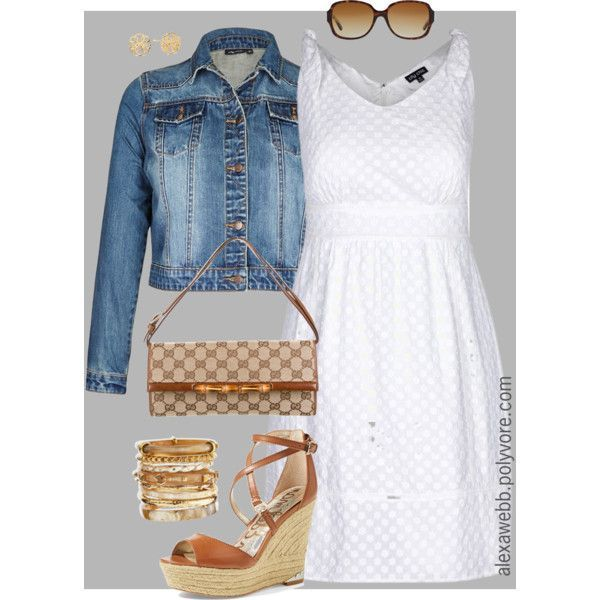 Plus Size - Spring Dress by alexawebb on Polyvore #alexawebb