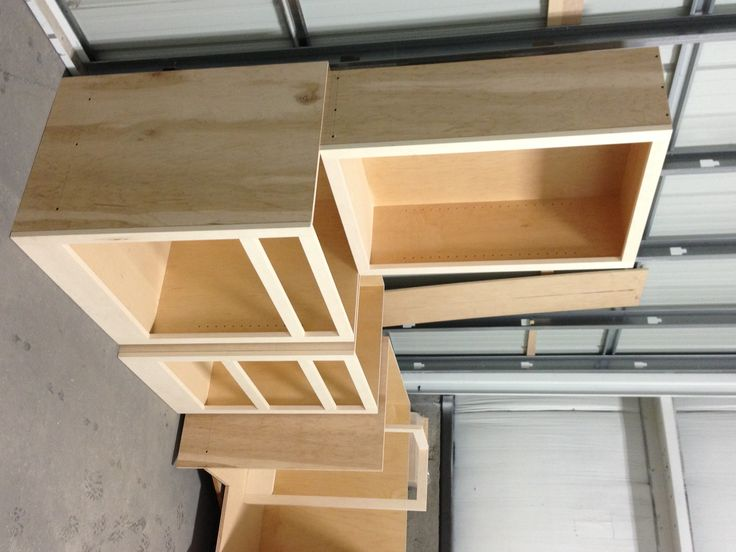 Unfinished cabinets waiting to be finished | Unfinished ...