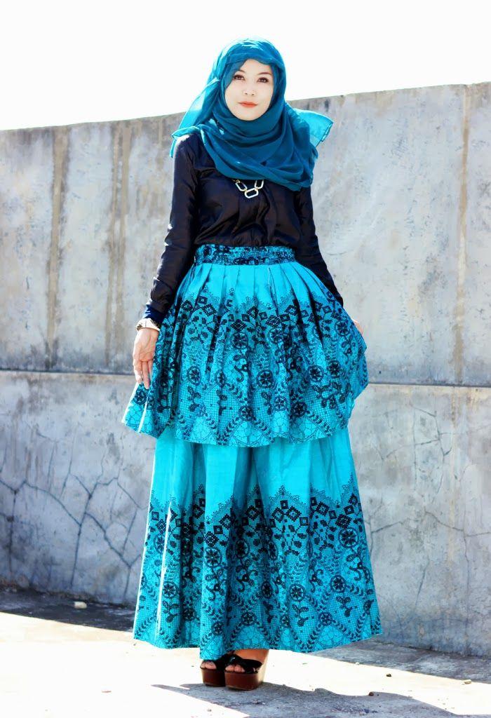 22+ Muslimah Fashion Outfits Classy