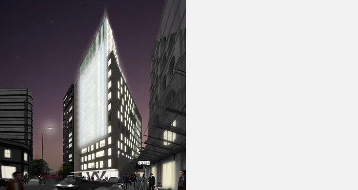 85 Fort Street | Architectus Fins in full light!