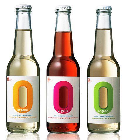 Organa: Bottle Labels, Beverages Design, Bottle Packaging, Packaging Design, Graphics Design, Products Design, Bottle Design, Drinks Labels, Products Packaging
