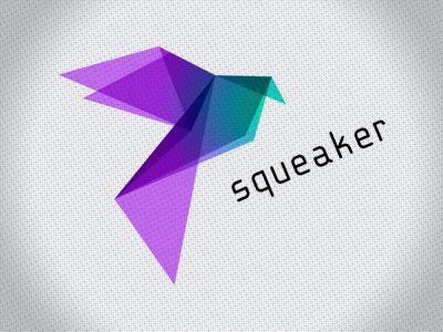 SqueakerOrigami Logo, Creative Logo, Logo Transparent, Colors, Nice Logo, Corporate Identity Origami, Brand, Graphicdesign Logo, Origami Style