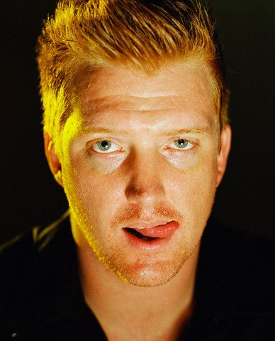 He knows he is hot as hell with that bad boy charm. Red headed devil... #Josh #Homme