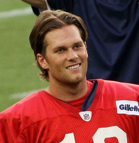 Tom Brady Long Hair | Tom Brady at training camp with the Patriots August 2011 91270