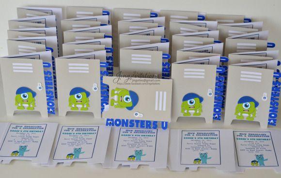 monsters university invitations (4)