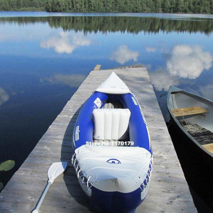 Aqua Marina SAVANNA BT 88580 1 1 presons inflatable kayak canoe 292*80cm, 2 Aluminium paddles, air pump, carry bag, repair kit