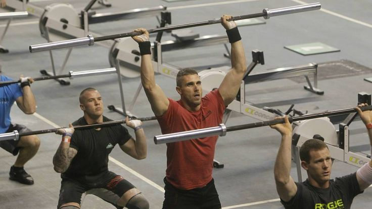 GALLERY: Muscling up for CrossFit Games