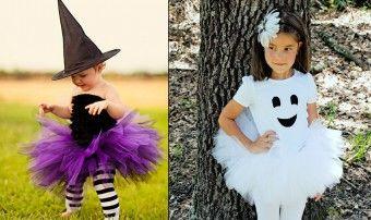 Réalisez vous-même votre déguisement d'Halloween avec tutu : sorcière, fantôme ou citrouille, découvrez toutes les astuces DIY !