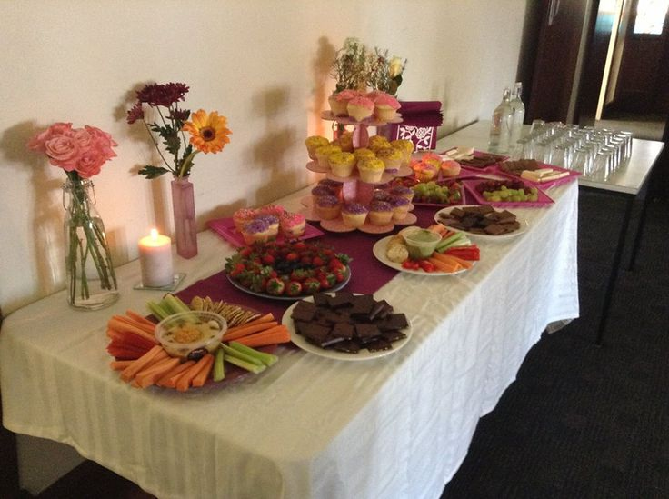Deliciousness at the From the Feminine First Anniversary Celebration Circle!