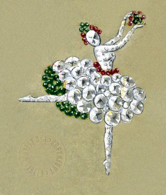 Van Cleef & Arpels' iconic Ballerina and Fairy clips were invented in New York in the early 1940s. The Ballerinas were inspired by Louis Arpels' passion for the world of dance. Caught in a variety of dance poses, their costumes sparkled with diamonds and were accentuated with rubies and emeralds, mounted in platinum. Symbols of joy and hope during the dark days of World War II Check out more of them...