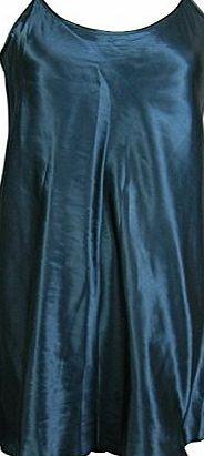 Generic Ladies Satin Chemise / Nightie / Slip - Plain Highland Green - Sizes - 8 - 22 (20/22) A lovely lightweight satin chemise in Highland Green (very deep/dark green) with adjustable spaghetti straps. (Barcode EAN = 0741414186217). http://www.comparestoreprices.co.uk/chemises/generic-ladies-satin-chemise--nightie--slip--plain-highland-green--sizes--8--22-20-22-.asp