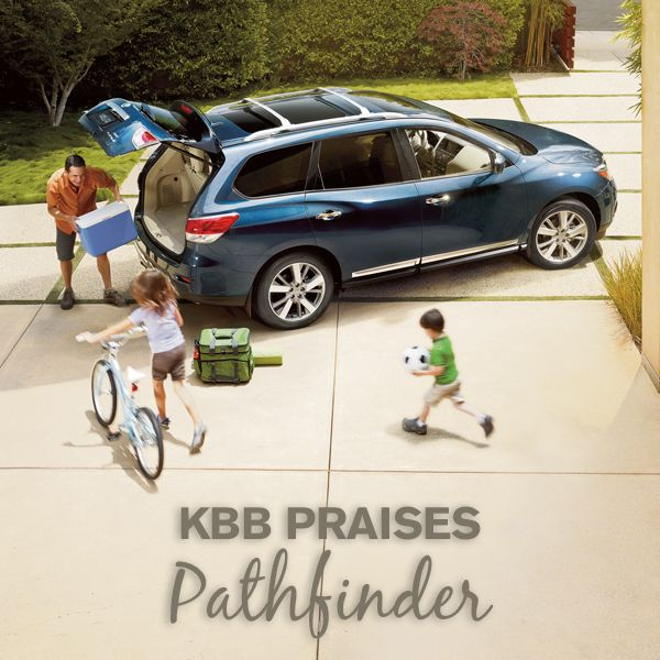 "Nissan Pathfinder was named one of the ""15 Best #Family Cars of 2015"" by #KelleyBlueBook. READ WHY NOW!"