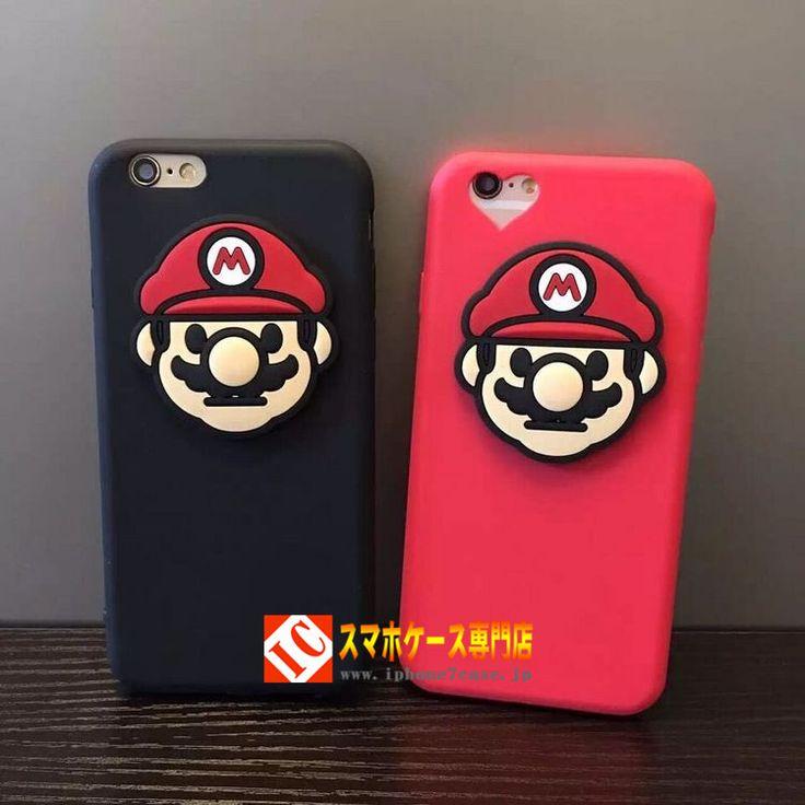 おもしろ任天堂、おしゃれな人たちのiphone8/7s/7Plus ケース マリオ。